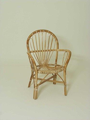 Oleg silla de mimbre. bambú natural
