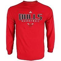 Adidas NBA da Uomo Athletic Basic Graphic Maglietta a Manica Lunga 3ad5188da88a