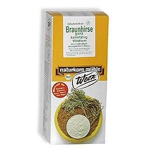 Braunhirse ganz. keimfähig. glutenfrei (1 Kg)