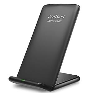 chargeur sans fil chargeur sans fil pour s8 s8 plus s7 s7 edge s9 s9 plus note 8 acetend. Black Bedroom Furniture Sets. Home Design Ideas