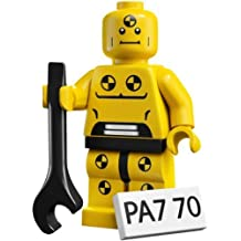 LEGO Collectable Minifigures: Crash Test Dummy Minifigure (Series 1) (Bagged) by LEGO