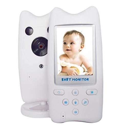 XGLL Monitor Wireless Digitale per Bambini 2.4G, Supporto scattare Foto, monitoraggio della Temperatura, colloquio bidirezionale, ninne nanne