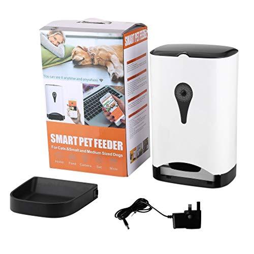 Intelligente automatische Haustier-Zufuhr mit Wireless-Kamera für Hund & Katze mit Mobile App Gesteuert durch IOS Andorid Smart Mobile Devices - 24-ghz-wireless-kamera