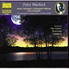 English Song Series, Volume 3 - Peter Warlock: The Curlew (song cycle), Lilygay (song cycle), other songs by Collins Classics