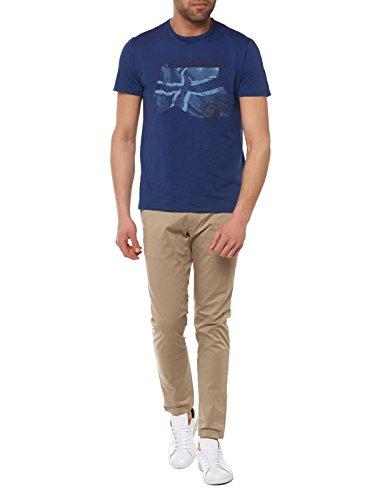 Napapijri Herren T-Shirt Sinley Blau