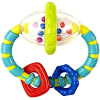 Kids II Bright Starts Grab and Spin Rattle Toy - ukpricecomparsion.eu