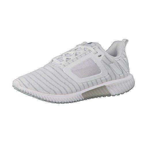 Adidas ClimaCool CW Damen Laufschuhe, Weiß–(Ftwbla/Ftwbla/plamet) ftwr white/ftwr white/silver met.