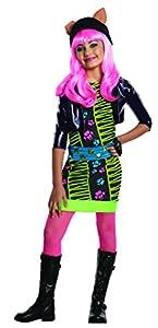 Monster High - Disfraz de Howleen Wolf para niña, infantil 5-7 años (Rubie