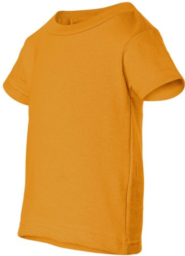 Obama Change auf American Apparel Fine Jersey Shirt Gold - Gold