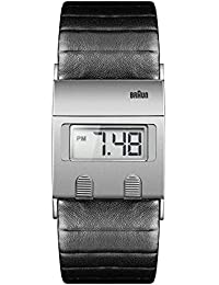 Braun Digital Range - Reloj digital para hombre, color negro/gris