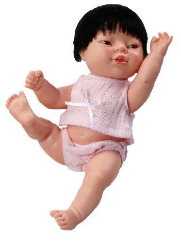 Berjuan 7082 - Muñeca asiática recién nacida, 30 cm