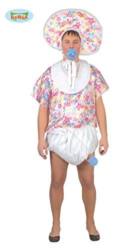 Riesen Baby Kostüm für Erwachsene Gr. M/L, Größe:L (Kostüme Babys)