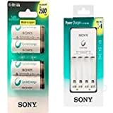 Sony BCG-34HHN Powercharger and 4pc 2500...