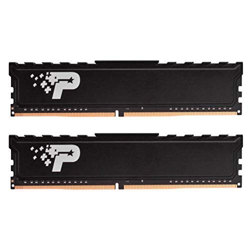 Patriot Signature Premium DDR4 16 GB (2 x 8 GB) 2666 MHz (PC4-21300) UDIMM Kit mit HEATSHIELD -