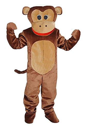Preisvergleich Produktbild Affe Deluxe Einheitsgrösse XXL Kostüm Fasching Karneval Fastnacht Maskottchen