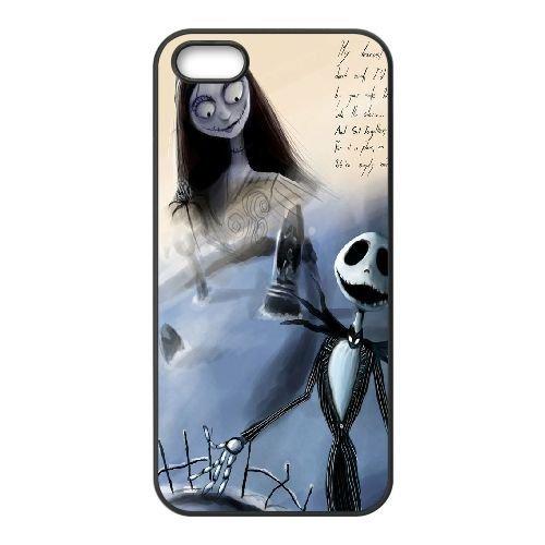 weukk l'étrange noël de Coque iPhone 5/5S, 5G, DIY Coque pour iPhone 5/5S, 5G le cauchemar avant Noël, DIY l'étrange noël de téléphone portable étui