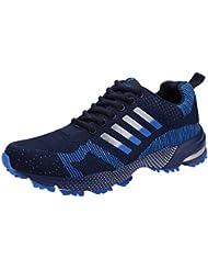 LHWY Zapatos de Deporte Zapatillas,Zapatos para Correr de los Estudiantes Zapatillas de Deporte de