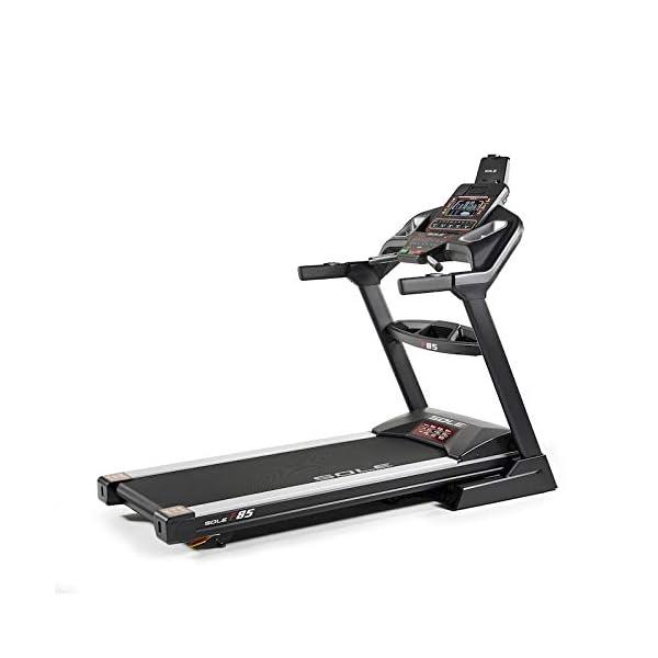 Sole Fitness Tapis Roulant F85-20 Bluetooth 4.0/7.0 HP 22km/h 585x1525 App Ready (Modello 2020) 5 spesavip
