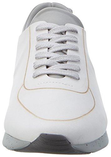 H.D. Hudson Mfg Co. Sime Nubuck 41, chaussons d'intérieur homme Weiß (white)