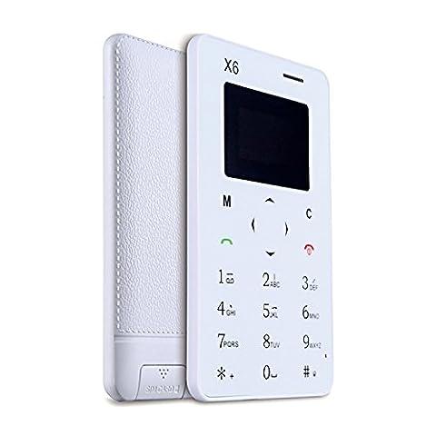 Mini Handy Super Leicht SIM Smartphone GSM 850/900/1800/1900MHz unlocked