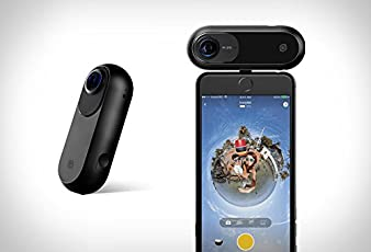 Insta360 ONE - 360 Degree Camera, Sports and Action Video Camera, VR Camera. Shoot 24MP (7K) Photos and 4K Videos.