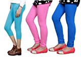 Indistar Girls Cotton Legging with Cotto...