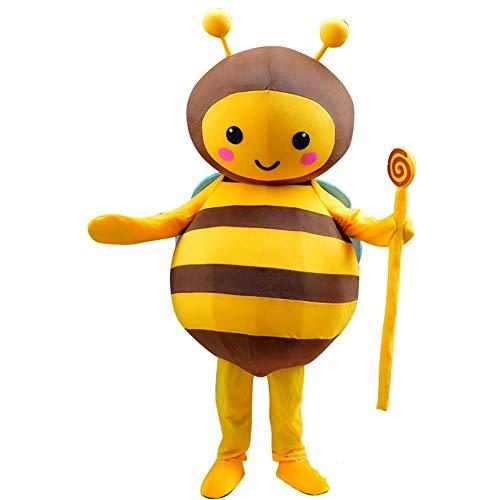 Zhou Yunshan Weihnachtsdekoration für Zuhause Cartoon Kostüm Biene -