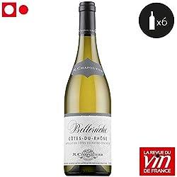 6 bouteilles • M. Chapoutier Belleruche Côtes du Rhône Blanc 2015 6x75cl