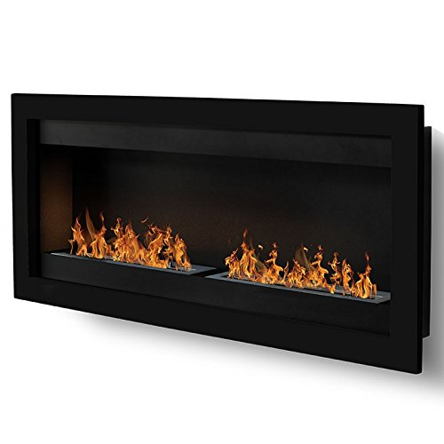 sevenfire-XL--negro-2-quemadores-chimenea-etanol-Poele-Bio-pared