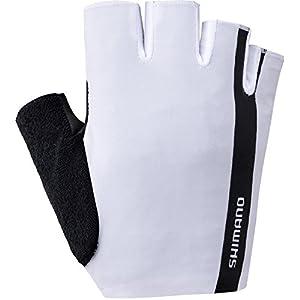 SHIMANO Value Gloves Unisex White 2019 Fahrradhandschuhe