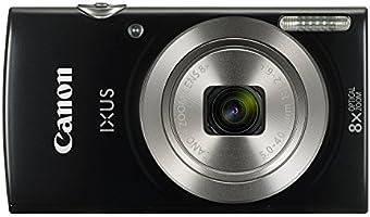 """Canon IXUS 185 Fotocamera Digitale Compatta, 20 MP, 1/2.3"""", CCD, 5152 x 3864 Pixel, Nero [Versione Canon Pass Italia]"""