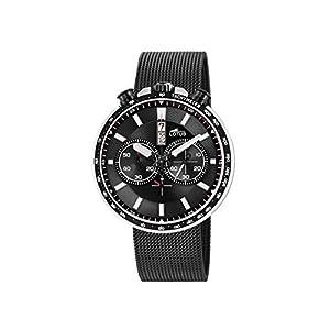 Lotus Reloj Cronógrafo para Hombre de Cuarzo con Correa en Acero Inoxidable 10139/4