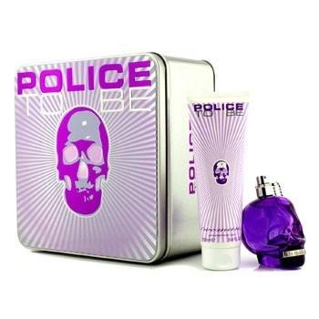 POLICE TO BE FOR WOMAN 75ML EAU DE PARFUM SPRAY+100ML BODY LOTION - 1 SET