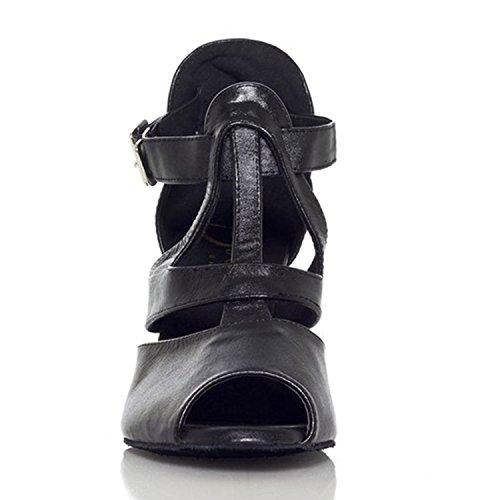 Pelle bovina di alta tacchi femminili moderne scarpe da ginnastica di ballo / danza / latino scarpe , 36