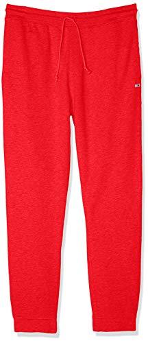 Hilfiger Denim Herren Straight Leg Sporthose TJM TOMMY CLASSICS SWEATPANT, Rot (Flame Scarlet 667), Small (Herstellergröße: Small)