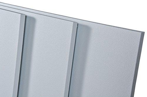 Infrarot Heizung Ecosun E100 - E1000 Infrarot Thermocrystal Beschichtung für bessere Abstrahlung Schutzklasse IP44 inkl. Halter für Wand + Decke (E270)