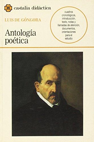 Antología poética de Luis de Góngora.