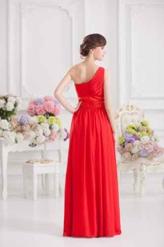 Lemandy - Robe - Trapèze - Femme rouge Red red