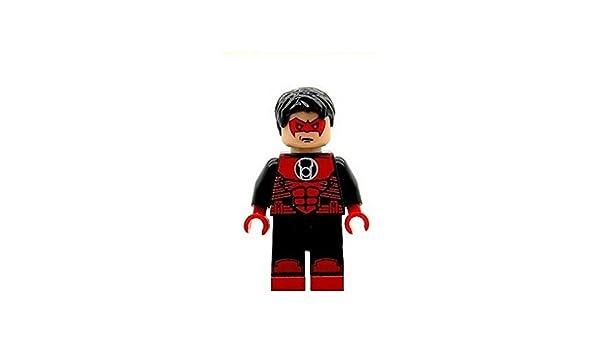 Lightning Lad Superhero Printed On LEGO Parts Custom Designed Minifigure