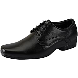 Bata Men's Formal Lace up shoes (9 UK, Black)