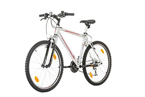 "41J%2B7TKfC2L - CoollooK OPTIMUM Bicycle 26"" MAN, mountain bike, ALLOY wheels 18 speed Shimano WHITE GLOSS"