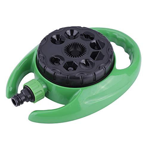 Aspersor de jardín, Aspersor estático de 9 funciones Aspersor de césped con forma de agua ajustable, para jardín, césped y patios