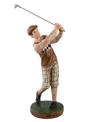 Statue Golfeur 12*8*28