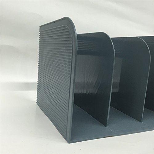DFHHG® Estante del libro Estante del estante del estante 292 * 230 * 210m m Gris oscuro durable ( Color : #2 )