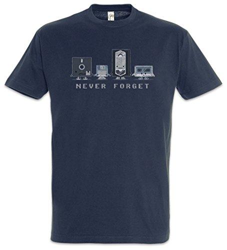 Urban Backwoods Never Forget T-Shirt – Dischetto Floppy usato  Spedito ovunque in Italia