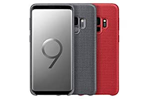 Samsung Hyperknit Qi Charging Compatible Cover Case for Galaxy S9 - Red,EF-GG960FREGWW