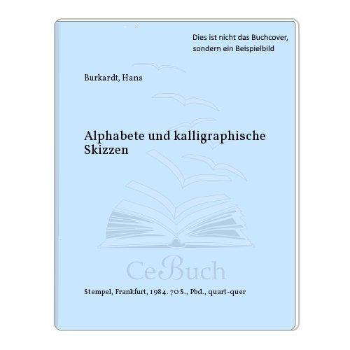 Alphabete und kalligraphische Skizzen