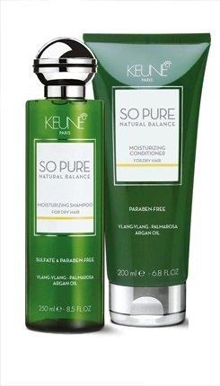 KEUNE So Pure Natural Balance Moisturizing Shampoo 8.5 oz and Conditioner 7 oz by KEUNE So Pure -