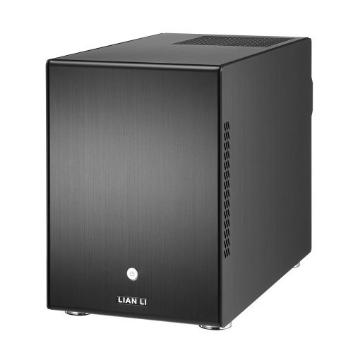 Price comparison product image Lian Li PC-Q25B Black Aluminum Mini-ITX Tower Computer Case by Lian Li