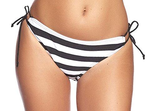Figure Extreme Shape Sea Oct Bikini S10 by F3756 Black / Striped White 40